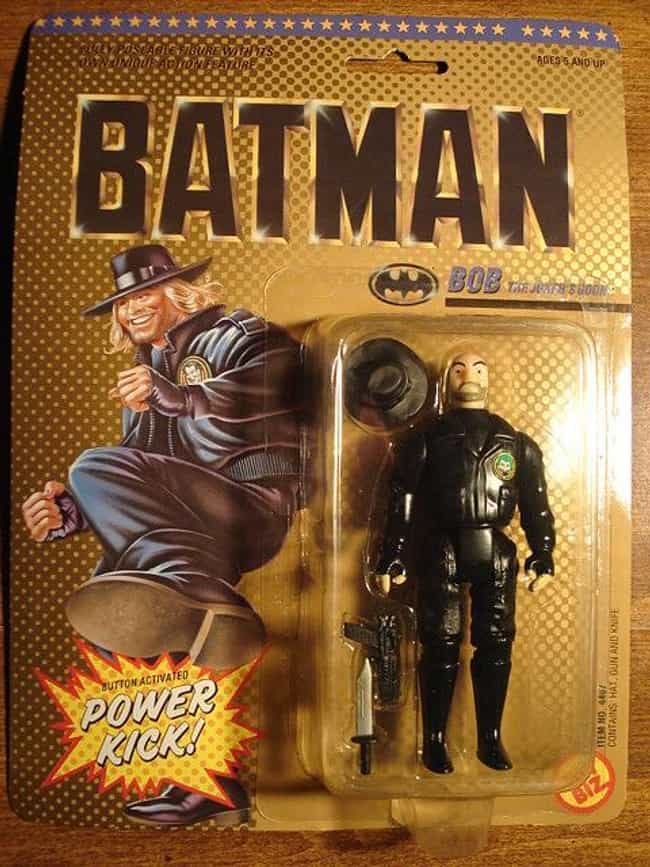 Bob is listed (or ranked) 4 on the list The Dumbest Batman Action Figures Ever Produced