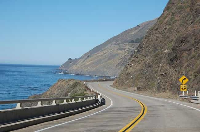 Pacific Coast Highway, Califor... is listed (or ranked) 1 on the list The Best Driving Roads in the World