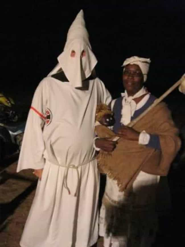 a klu klux klansman is listed or ranked 4 on the list offensive halloween