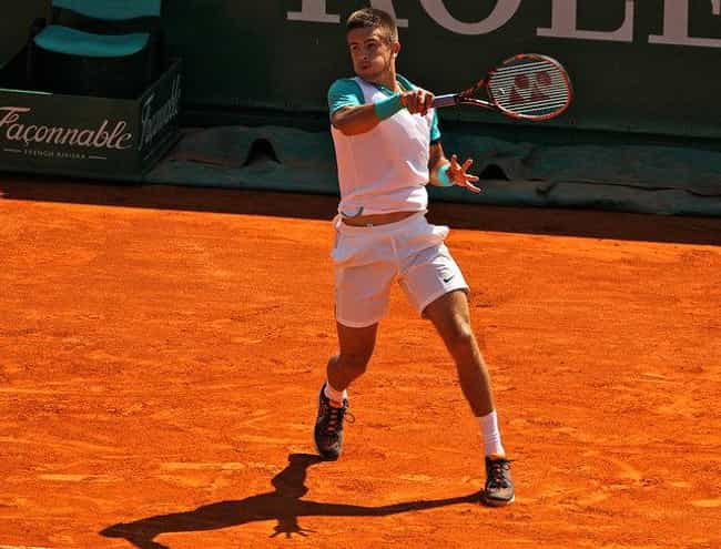 Borna Coric is listed (or ranked) 2 on the list The Best Tennis Players from Croatia