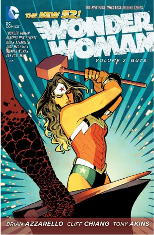 She's Worthy of Wielding... is listed (or ranked) 2 on the list 18 Things You Didn't Know About Wonder Woman