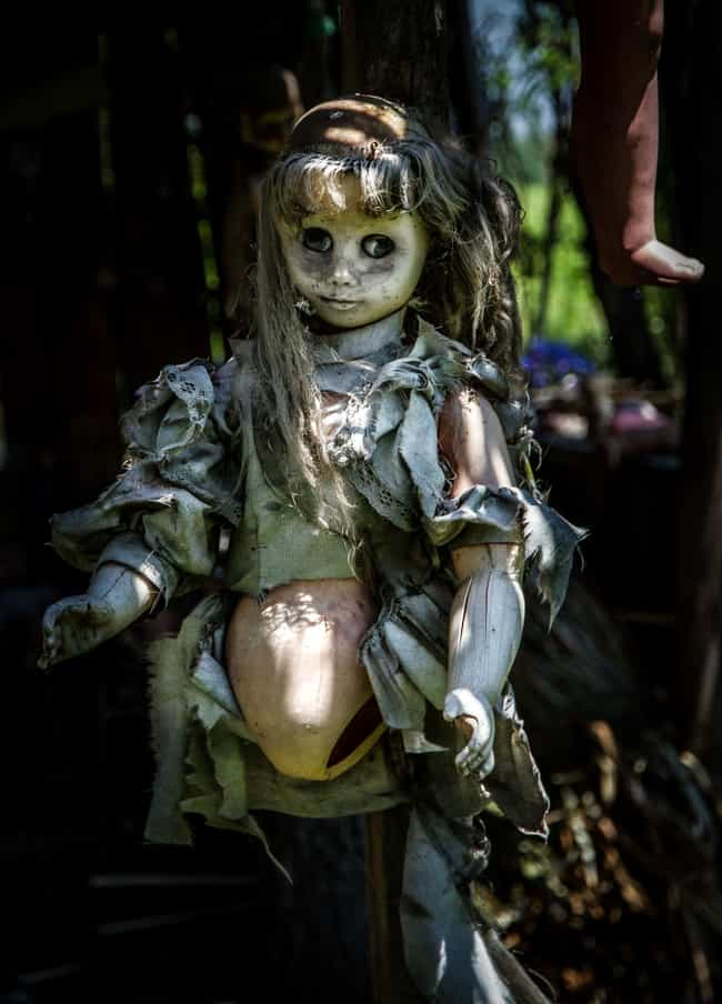The Island of Dolls, Mex... is listed (or ranked) 2 on the list The Scariest Real Places on Planet Earth