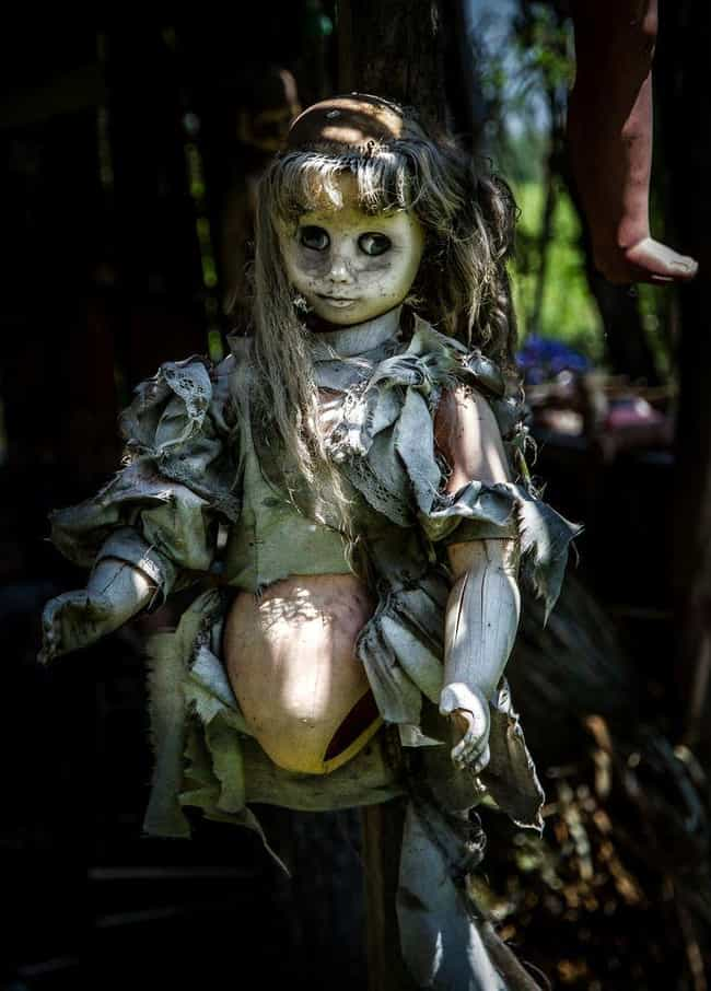 The Island of Dolls, Mexico is listed (or ranked) 2 on the list The Scariest Real Places on Planet Earth