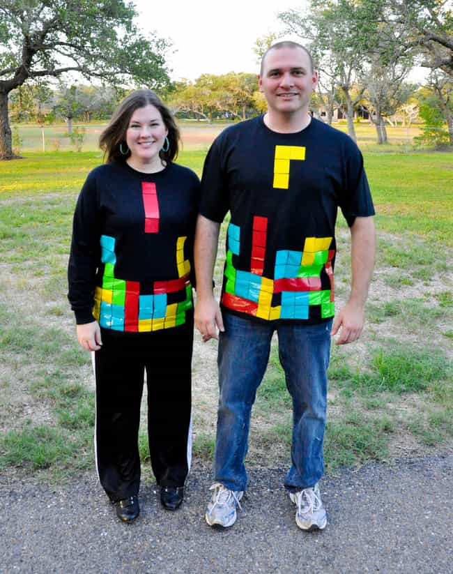 Tetris is listed (or ranked) 2 on the list Last Minute DIY Halloween Costumes Even You Can Make