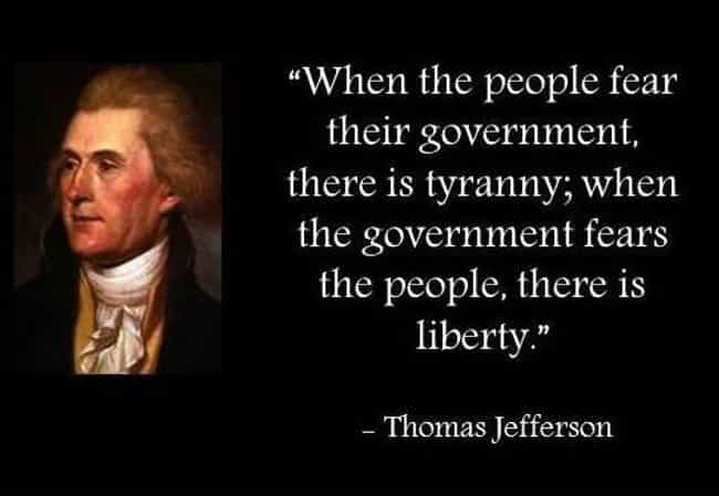 Thomas Jefferson on Liberty is listed (or ranked) 4 on the list Famous US Presidential Quotes That No President Ever Said