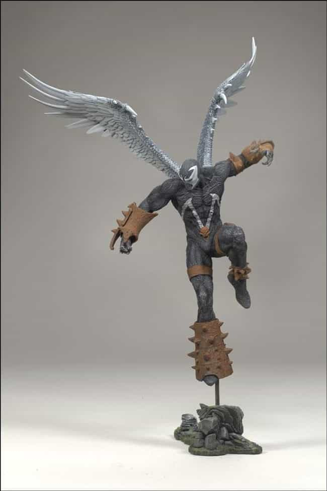 Wings of Redemption (Series 34... is listed (or ranked) 3 on the list The Best Spawn Action Figures Ever Sculpted