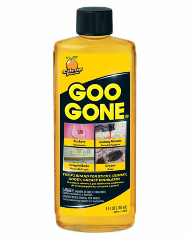 Goo Gone is listed (or ranked) 1 on the list The Best Ways to Remove Labels or Stickers from Glass