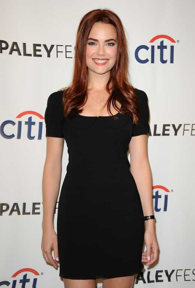 Rebecca Rittenhouse at PaleyFe... is listed (or ranked) 4 on the list The Most Stunning Rebecca Rittenhouse Pics