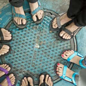 Tevas is listed (or ranked) 23 on the list The Nerdiest Things That Will Never Be Cool