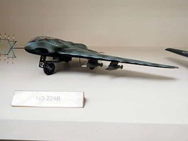 Horten HO 229 'Bat' is listed (or ranked) 1 on the list The Greatest Weapons That Never Saw Action