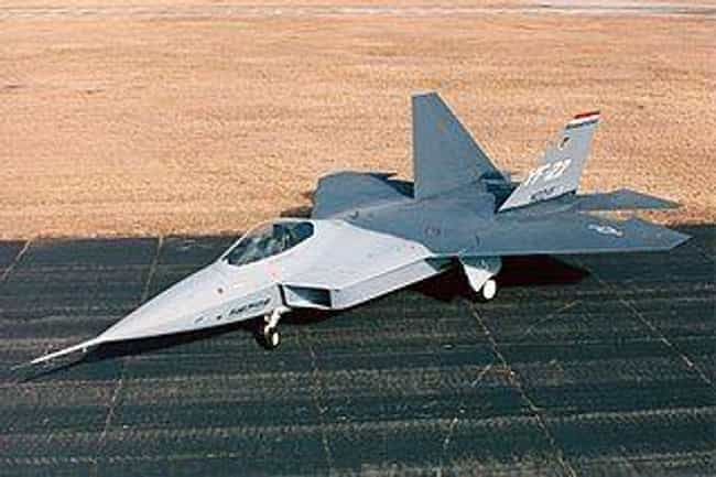 F-22 Raptor is listed (or ranked) 3 on the list The Greatest Weapons That Never Saw Action
