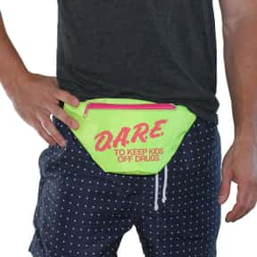 Fanny Packs is listed (or ranked) 4 on the list The Nerdiest Things That Will Never Be Cool