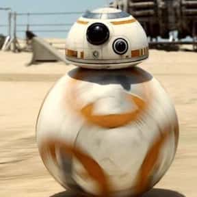 BB-8 is listed (or ranked) 8 on the list The Greatest Robots of All Time