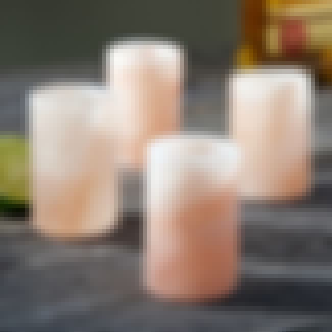 Himalayan Salt Tequila Glasses is listed (or ranked) 2 on the list The Classiest Ways to Get Drunk
