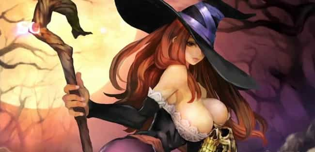Sorceress (Dragon's Quest) is listed (or ranked) 1 on the list The Bustiest Video Game Characters You Wish Were Real