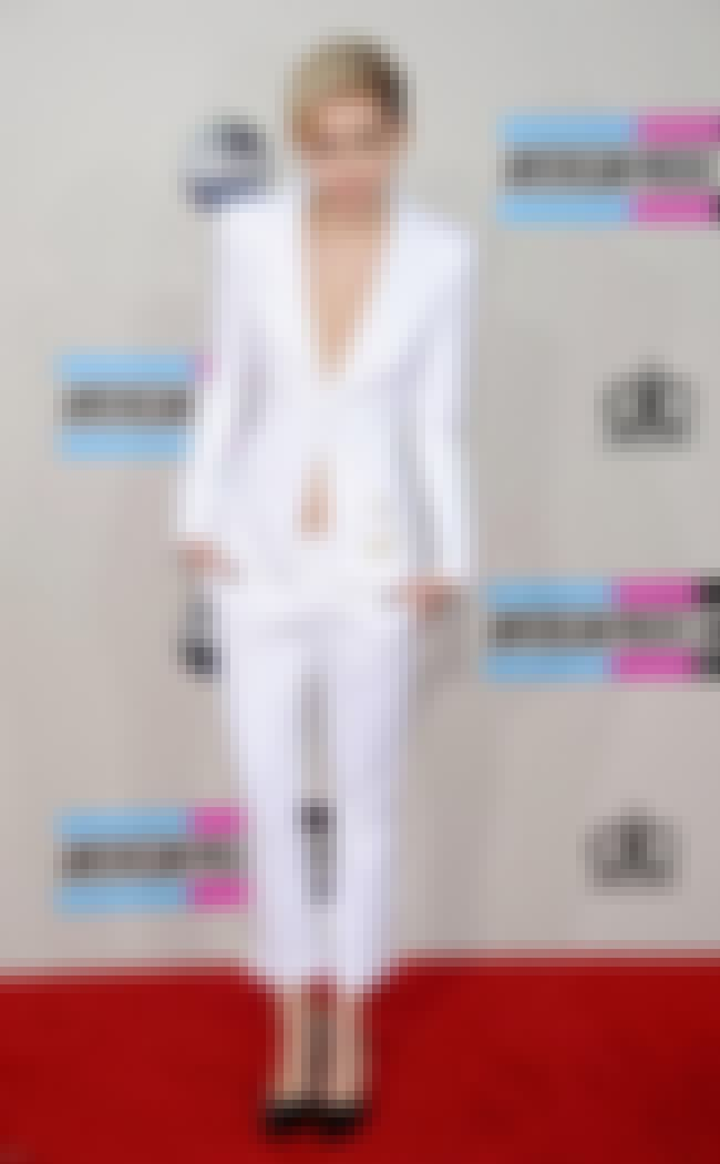 This All White Suit with No Sh... is listed (or ranked) 2 on the list Miley Cyrus's Boldest Fashion Choices, Ranked