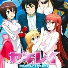 Sekirei is listed (or ranked) 3 on the list The Best Fan Service Manga of All Time