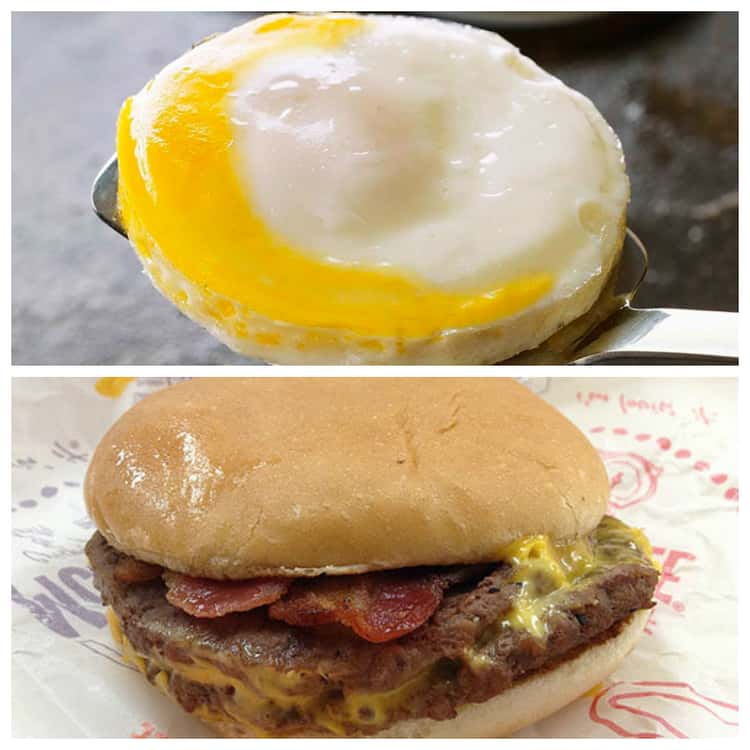 Bacon and Egg McDouble