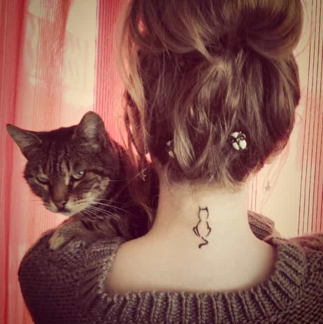 This Minimalist Tattoo for the... is listed (or ranked) 1 on the list 33 of the Cutest Tiny Tattoos Ever