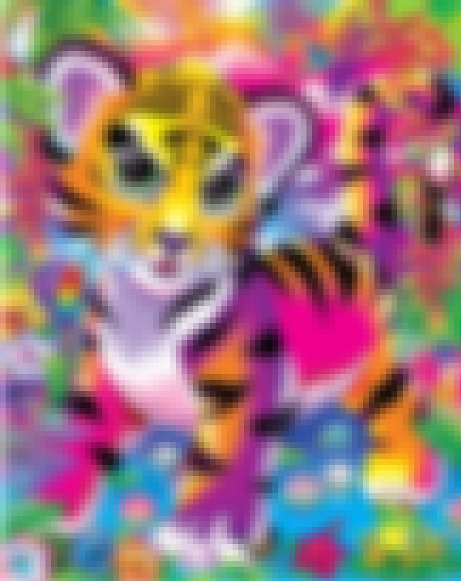 That Cute Tiger Cub is listed (or ranked) 4 on the list The Best Lisa Frank Animals
