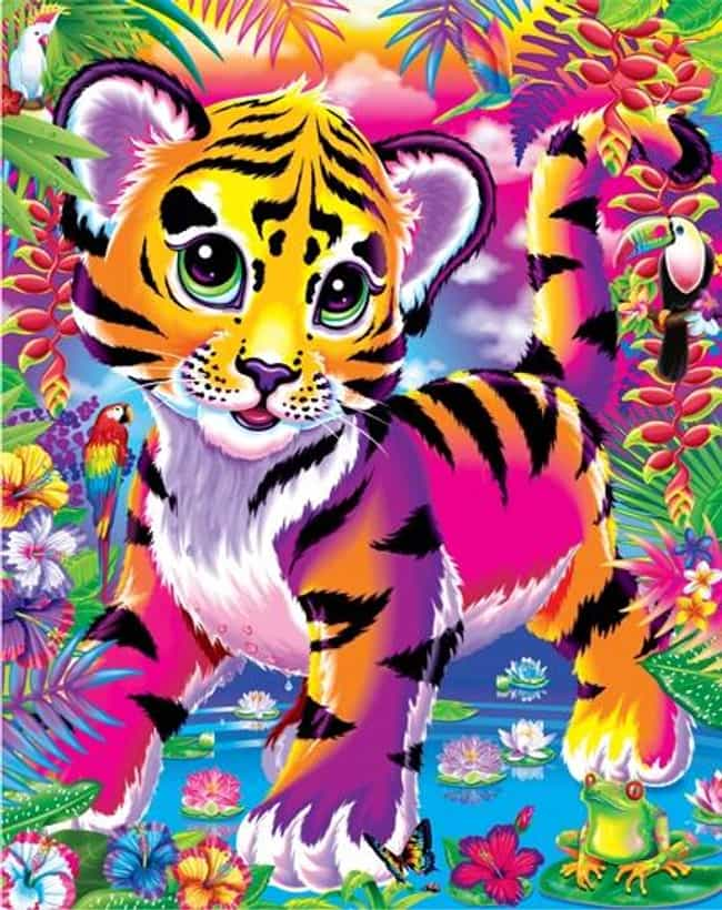 That Cute Tiger Cub is listed (or ranked) 2 on the list The Best Lisa Frank Animals