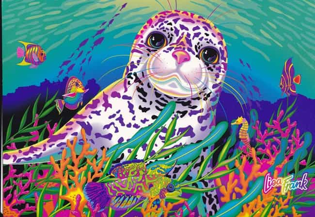 The Sea Lion is listed (or ranked) 3 on the list The Best Lisa Frank Animals