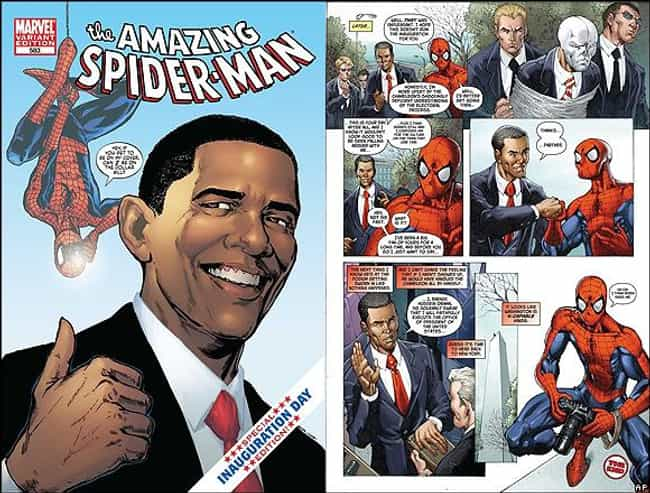 He's an Avid Comic Book ... is listed (or ranked) 3 on the list 25 Fun Facts You Didn't Know About Barack Obama