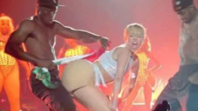 She Twerked on a Flag is listed (or ranked) 4 on the list The 22 Weirdest Things Miley Cyrus Has Ever Done