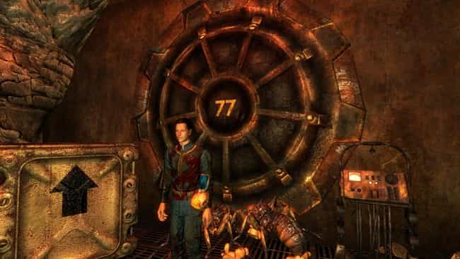 Vault 77 - Puppet Vault is listed (or ranked) 2 on the list 14 Insanely Creepy Vault Backstories in Fallout