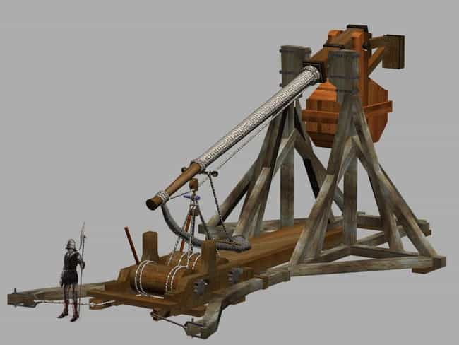 Trebuchet is listed (or ranked) 1 on the list The Most Iconic Siege Weapons of All Time