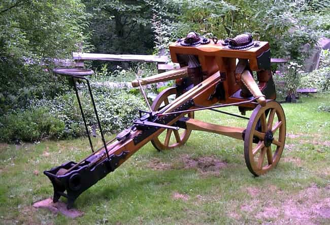 Ballista is listed (or ranked) 2 on the list The Most Iconic Siege Weapons of All Time