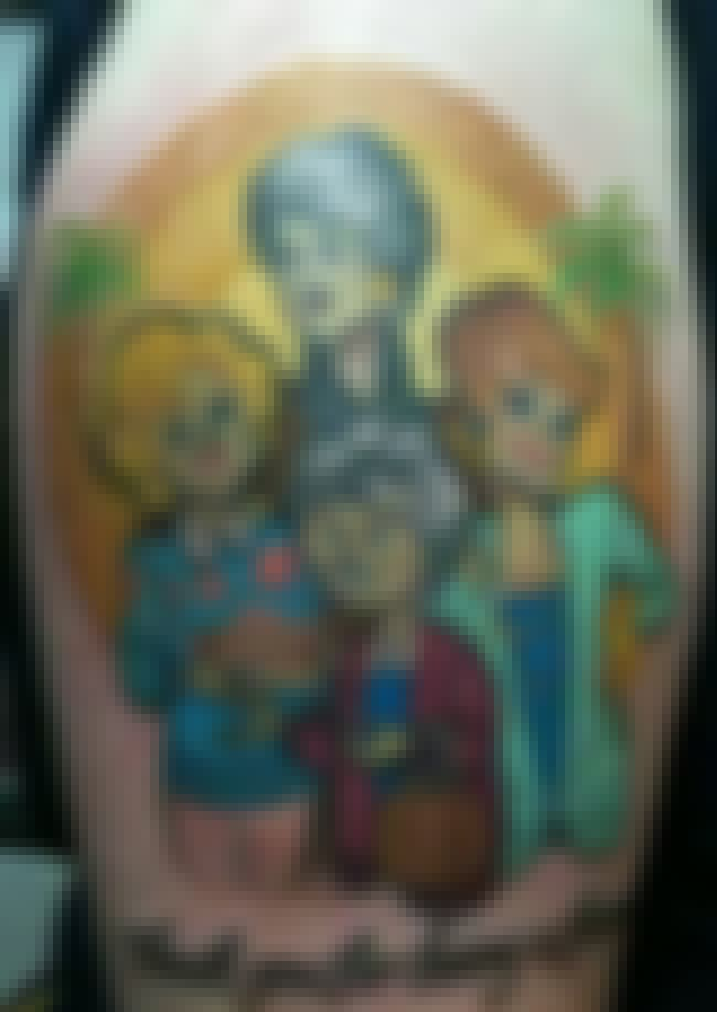 The Gals Chillin' Back in ... is listed (or ranked) 2 on the list 25 Incredible Tattoos Inspired by The Golden Girls