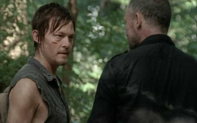 When He Stands Up to Mer... is listed (or ranked) 4 on the list The Best Daryl Dixon Moments on the Walking Dead