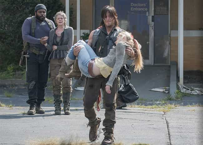Dealing with Beth's Deat... is listed (or ranked) 3 on the list The Best Daryl Dixon Moments on the Walking Dead