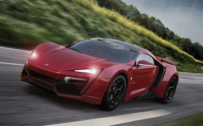 Lykan Hypersport is listed (or ranked) 1 on the list Supercars You Wouldn't Want to Take Out of the Garage