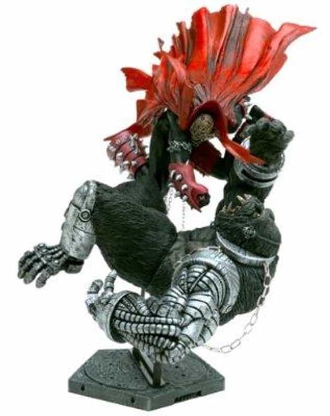 Spawn vs. Cy-Gor (Series 26) is listed (or ranked) 4 on the list The Best Spawn Action Figures Ever Sculpted