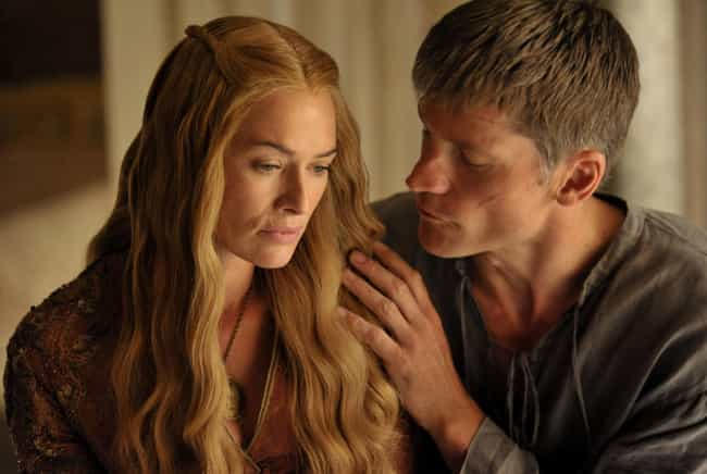 Jaime and Cersei Lannister is listed (or ranked) 1 on the list Current TV Couples You Hope Break Up