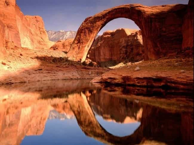 This Rainbow Bridge in Utah is listed (or ranked) 2 on the list The Coolest Natural Bridges Built by the Earth