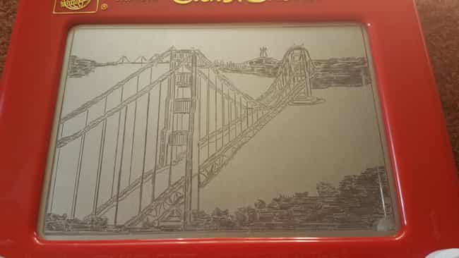 The Only Time You Won't ... is listed (or ranked) 3 on the list The Coolest Etch-A-Sketch Art Ever Etched