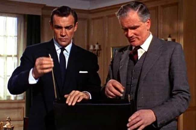 The Briefcase is listed (or ranked) 4 on the list The Coolest James Bond Gadgets