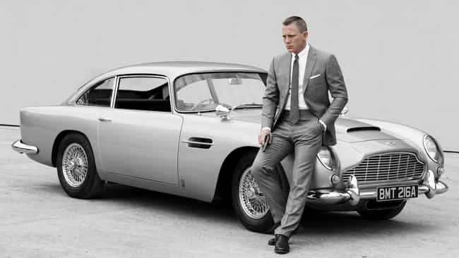 Aston Martin DB5 is listed (or ranked) 1 on the list The Coolest James Bond Gadgets