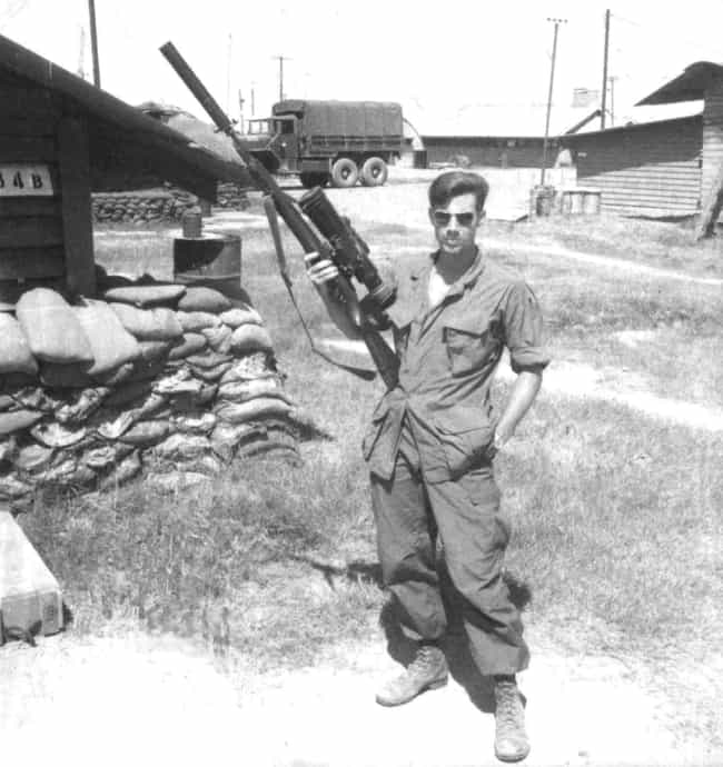 Carlos Hathcock, America... is listed (or ranked) 1 on the list Cool Old School Pictures From Vietnam