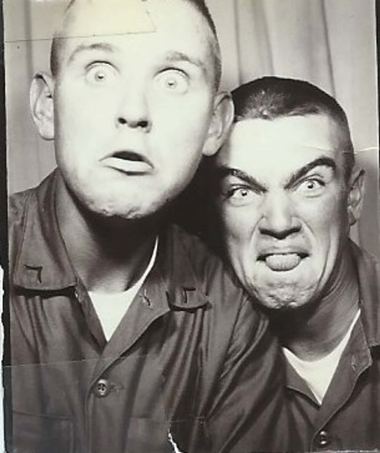 Goofing Off In A Photo Booth is listed (or ranked) 4 on the list Cool Old School Pictures From Vietnam