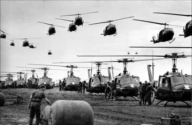 Endless Helicopters is listed (or ranked) 2 on the list Cool Old School Pictures From Vietnam