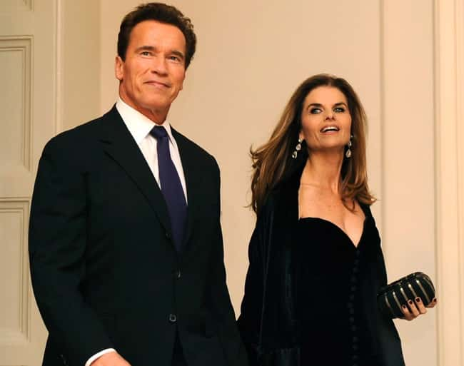 Maria Shriver & Arnold Sch is listed (or ranked) 6 on the list 24 Famous Long-Term Couples That Split