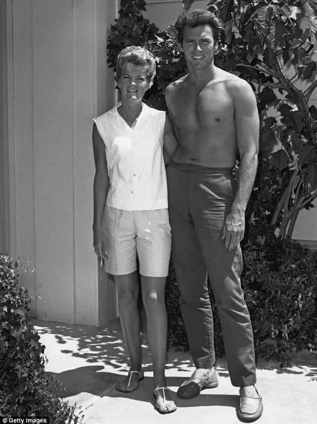 Clint Eastwood & Maggie Jo is listed (or ranked) 8 on the list 24 Famous Long-Term Couples That Split