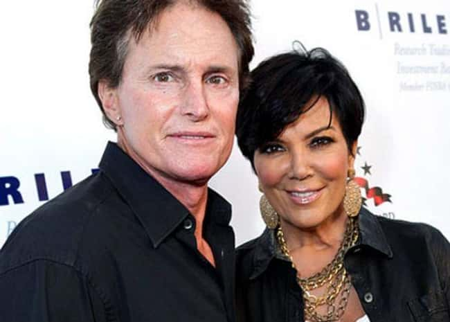 Kris & Bruce Jenner is listed (or ranked) 7 on the list 24 Famous Long-Term Couples That Split