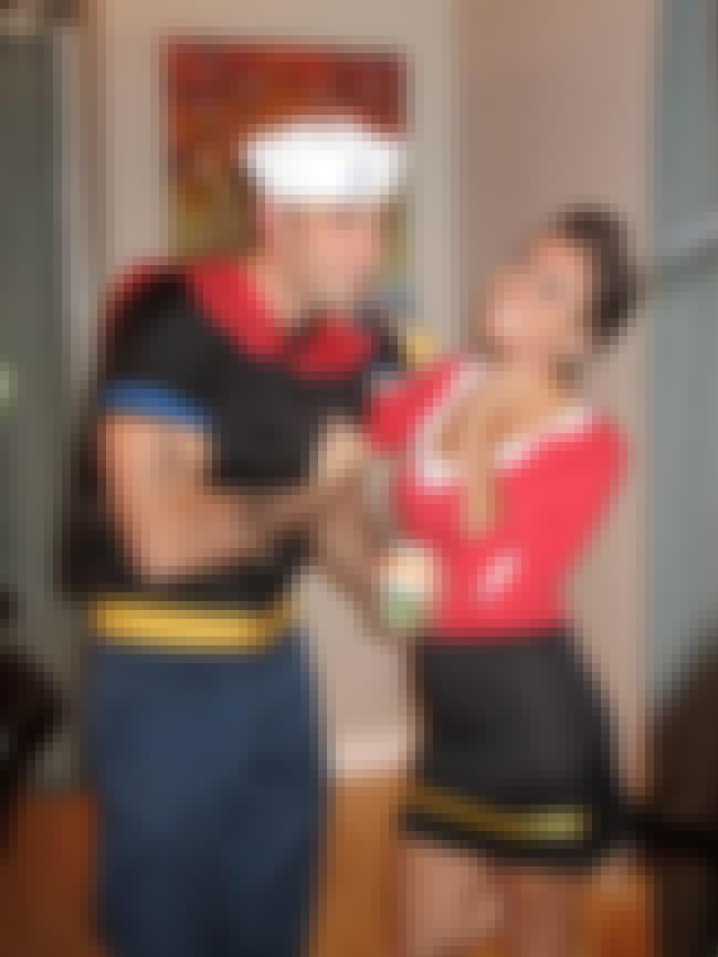 A Cute DIY Popeye and Olive Oy... is listed (or ranked) 5 on the list Clever and Creative Halloween Costume Ideas for Couples