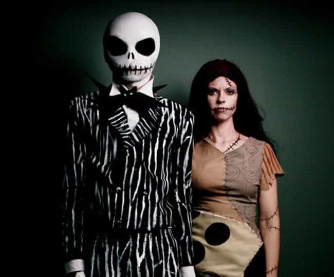 jack and sally from the nightmare before christmas - List Of Halloween Costumes Ideas