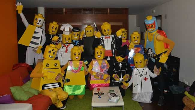 lego characters is listed or ranked 3 on the list awesome halloween costumes ideas - List Of Halloween Costumes Ideas